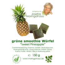 "Josefa´s grüne Smoothie Würfel ""sweet Pineapple"""