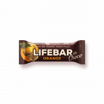 lifebar InChoco - Orange Roh Bio