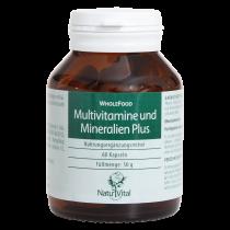 Multivitamine und Mineralien PLUS von Natur Vital