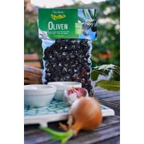 Schwarze Oliven MEDITERRAN von Vita Verde
