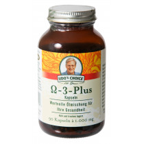 Omega-3-Plus Kapseln von Dr. Udo Erasmus