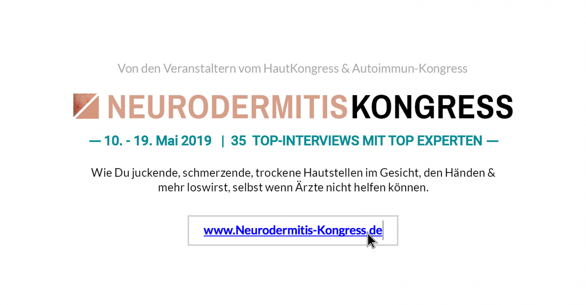 Neurodermitis-Kongress 2019