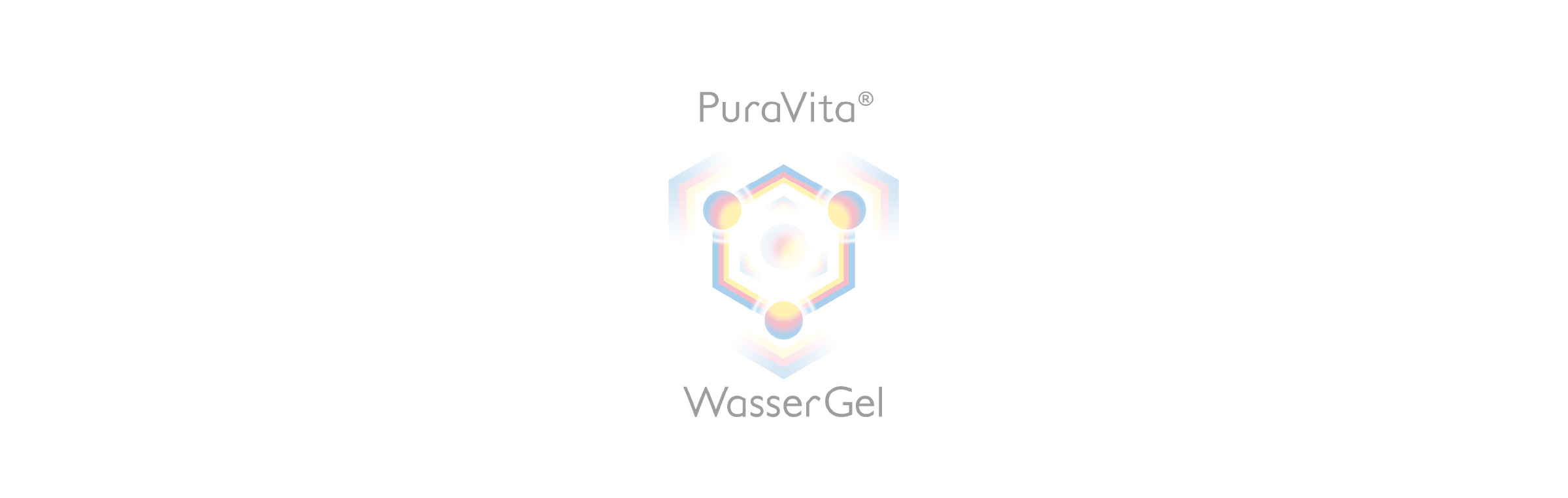 Puravita hexagonal strukturiertes Wassergel